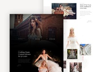 Galia Lahav - Homepage + About Page