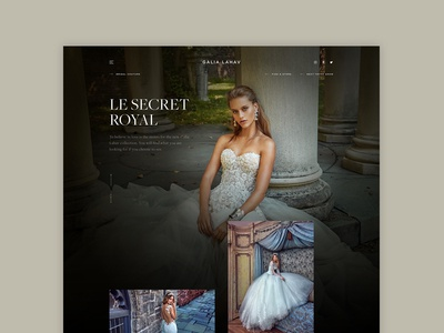 Galia Lahav - Collection page