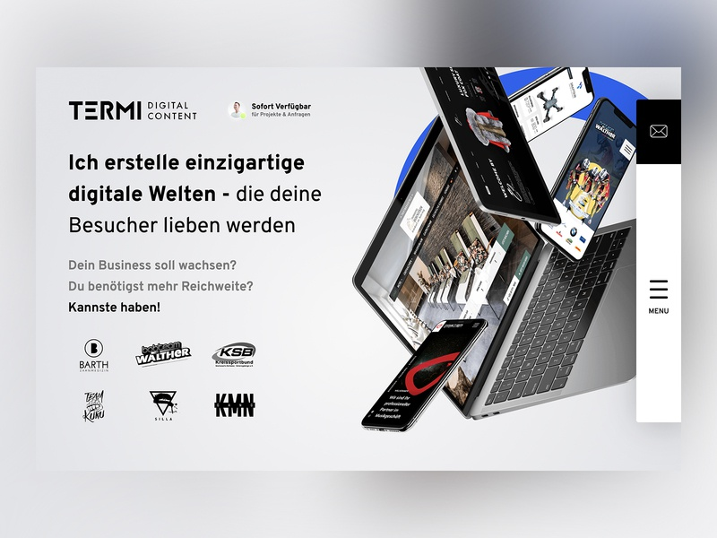 Startscreen Termidesign.de