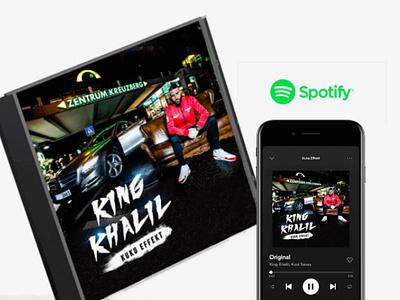 King Khalil - Coverdesign & Box premium box box coverdesign team kuku kingkhalil deutschrap artist music cd cover design design cover
