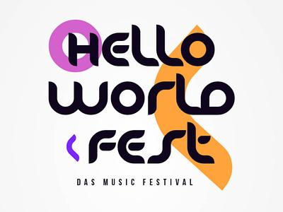 Hello World Fest - Logodesign hello helloworld logotype logodesign logo