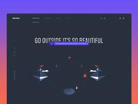 Skilmar — Homepage Concept