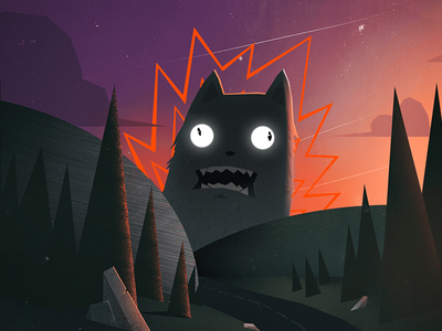 Another stupid cat WIP illustrative colors illustration cat