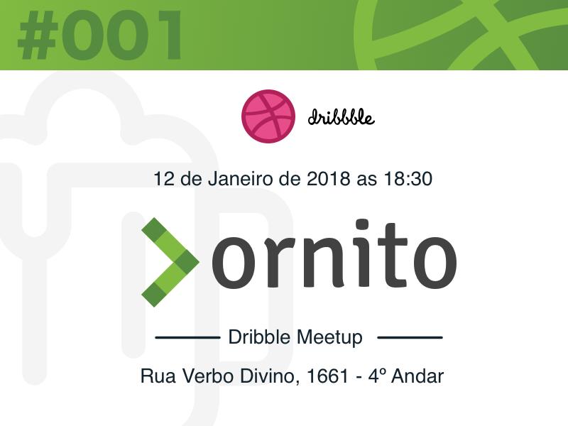 São Paulo Dribbble Meetup #001/2018 spread ornito design meetup dribbble