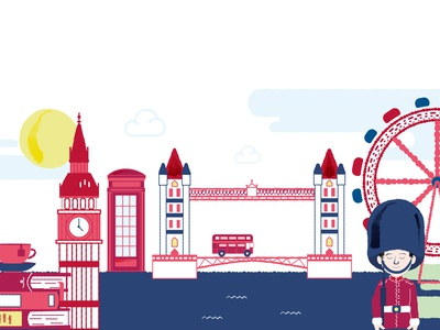London london eye london design vector illustration