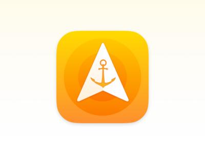 Anchor Pointer – iOS Icon Design