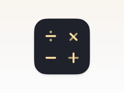 Calcly – iOS Icon Design