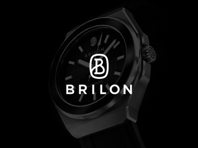 Brilon Watch watch logo mark label design logotype logodesign logo