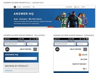 Electronic Arts Answer HQ - Responsive