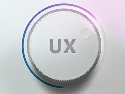 Crank up the UX 02 dial volume notch ux ui control