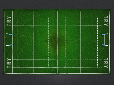 Rugby Pitch UI WIP rugby field pitch grass sport football american ui