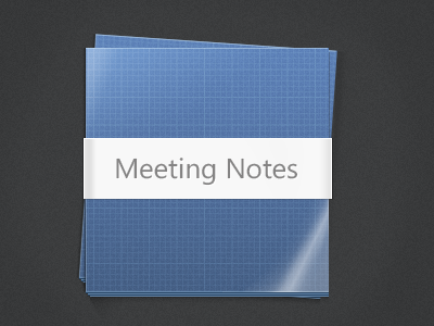 Meeting Notes Stack meeting notes stack blueprint ux ui