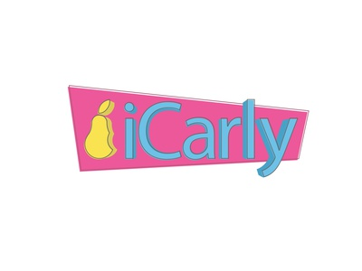 iCarly Logo Reimagined cmyk illustrator simple logo pear ipad ipod iphone apple brand design logodesign webshow reimagined redesign rebrand logo