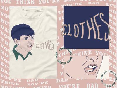 CLOTHES band - Edmond T-shirt
