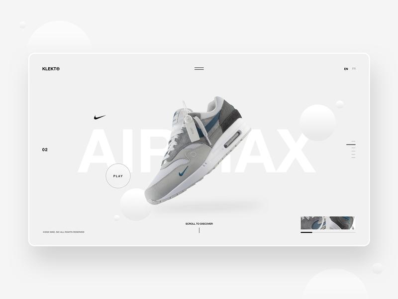 Nike AirMax - Web Concept
