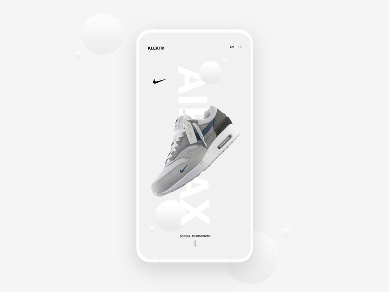 Nike AirMax - App Concept