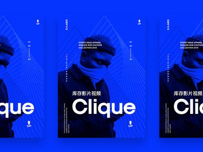 X/Clique Prints