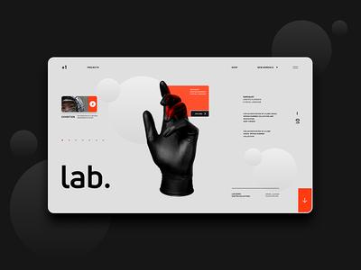 Lab® Exhibitions UI