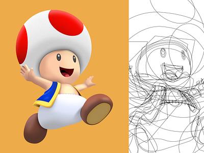 Toad Illustration, created 100% in Figma web mascot design figma design characterdesign character figmadesign figma mascot ux ui illustration vector art design