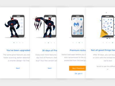 Malwarebytes for Android Mobile Onboarding