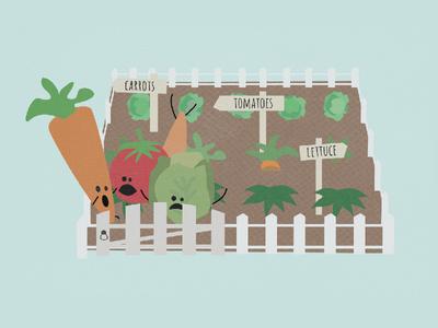 Vegetable Garden Escape