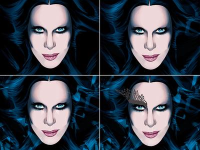 Cher - 2DK Tour Illustration process p.2
