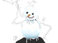 Snowman process