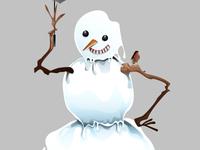 Snowman - final shot