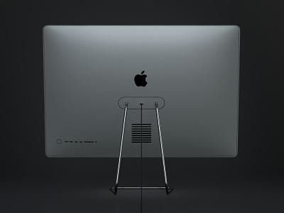 iMac Pro M1 Back c4d octane render 3d pro imac pro prototype concept 3d m1x m1 apple imac