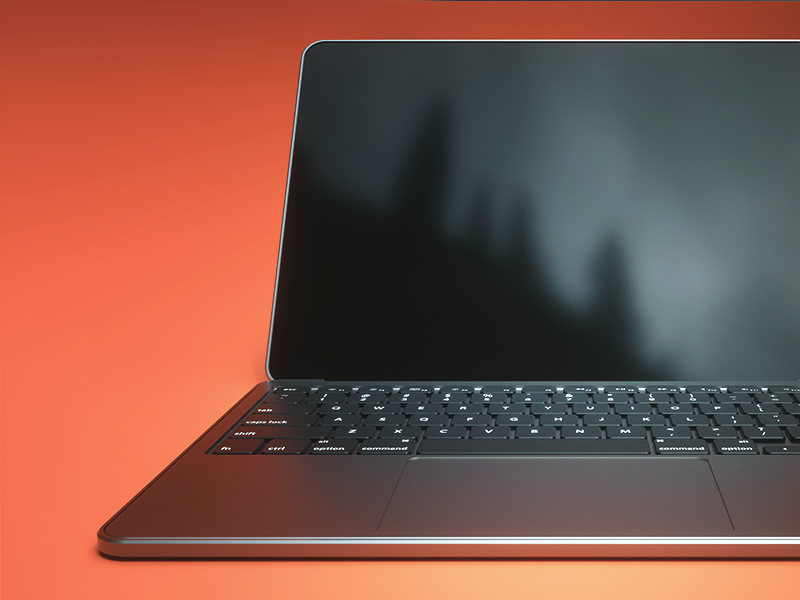 Macbook Pro Render by Virgile Arlaud on Dribbble