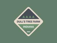 Christmas Tree Farm Sticker