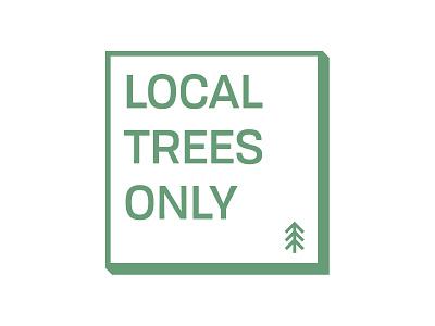 Local Tree Farm Sticker small business saturday christmas sticker treefarm
