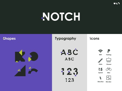 Notch Apartments Branding branding and identity logodesign typogaphy apartment apartments branding