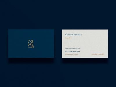 Canavar Business Card