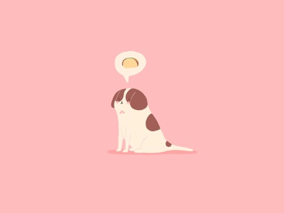 Kaiser minimal cute mexican love taco lovers dog illustration pets taco bigdog petlovers pet pink doodle saintbernard dog illustration