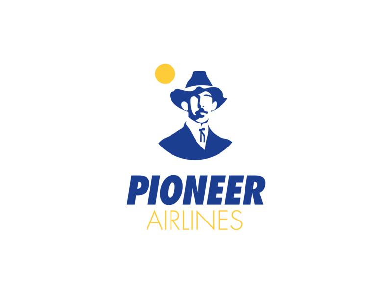 Daily Logo Challenge: 12/50 dumond airtrack skybound airplane pioneer airline dailylogochallenge challenge