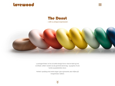 Donut Candleholder interior design minimal minimalistic webdesign