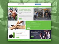 Smart Fitness Webdesign