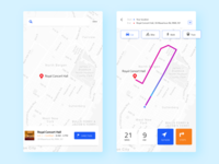 Daily UI 20 Location Tracker