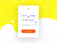 Daily Ui 26   Subscribe