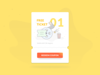 Daily Ui 61 | Redeem Coupon