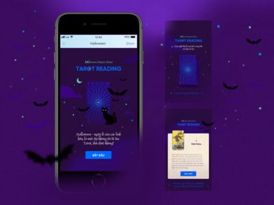 Tarot Reading: Halloween Theme