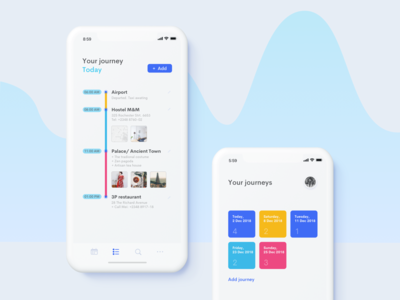 Daily Ui 79: Itinerary