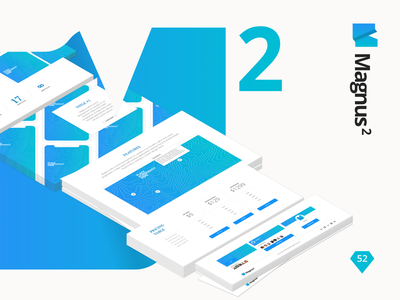 Magnus 2 | Set of 150+ Core UX Cards for the Landing Page prototyping ux ui kit template magnus