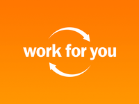Work for you Logotype