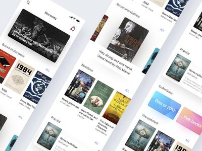 Book store App Concept