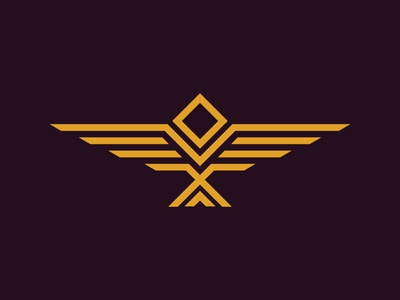 Minimum eagle logo