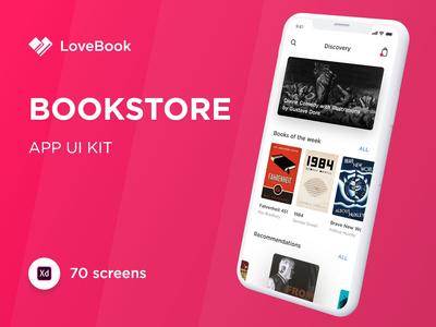 Bookstore UI Kit