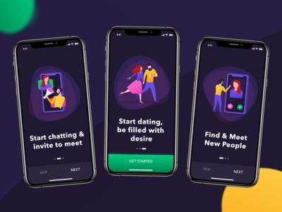 Desire Onboarding - The Dating App UI Kit