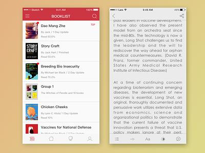 Read App book booklist read